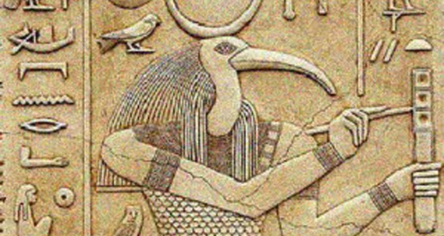 Resultado de imagen de thot dios egipcio
