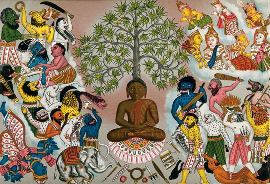 16-Mitology-Buda-resistindo-ante-los-demonios